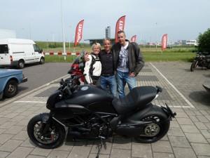 Ducati Dealer Amsterdam: Ducati Diavel Alexander Nijholt en Marije Westra