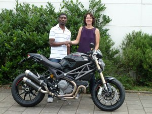 Ducati Dealer Amsterdam: Ducati Monster 1100 Evo Stephen Prempeh