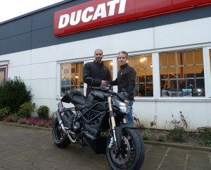 Ducati Dealer Amsterdam: Ducati Streetfighter 848 M. Elbeleidy