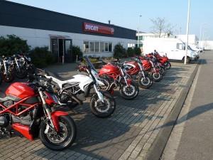 Ducati Dealer Amsterdam: Ducati desmoriding tour 2015