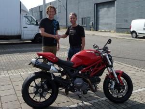 Ducati Dealer Amsterdam: Ducati Monster 796 Tom van der Veldt