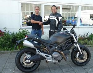 Ducati dealer Amsterdam: Ducati Monster 696 ABS Hanssens