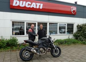 Ducati Dealer Amsterdam: Ducati Monster 821 H. Lammers