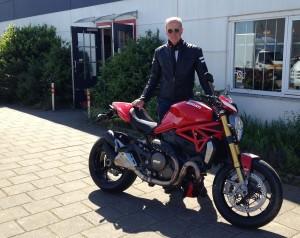 Ducati Dealer Amsterdam: Ducati Monster 1200 S Stripe Roel