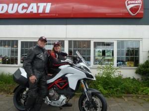 Ducati Dealer Amsterdam: Ton en Desiree Ducati Multistrada 1200 S