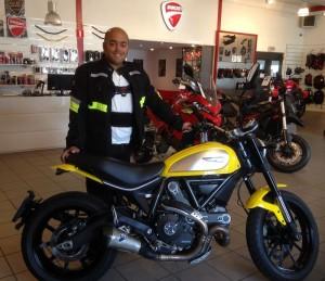 Ducati Dealer Amsterdam: Ducati Scrambler Icon Ingmar