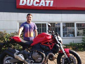 Ducati Dealer Amsterdam: Altan Ducati Monster 821