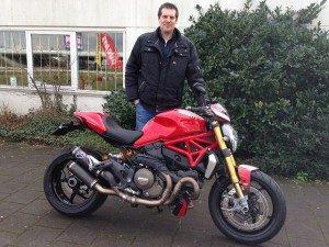 Ducati Dealer Amsterdam: Cor Ducati Monster 1200 S Stripe