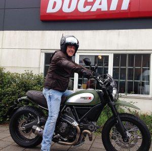 Ducati Dealer Amsterdam: Bart Ducati Scrambler Urban Enduro