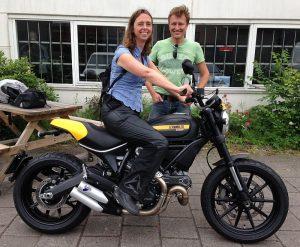 Ducati Dealer Amsterdam: Danielle Ducati Scrambler Full Throttle