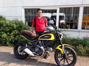 Ducati Dealer Amsterdam:Aarini Ducati Scrambler Icon