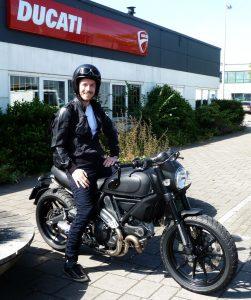 Ducati Dealer Amsterdam: Daniel Ducati Scrambler Icon