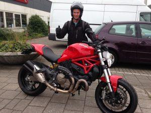 Ducati Dealer Amsterdam: Ducati Monster 821