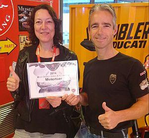 Ducati beste dealer sales en marketing
