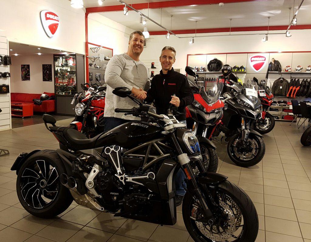 Ducati Dealer Amsterdam verkoopt Ducati XDiavel S