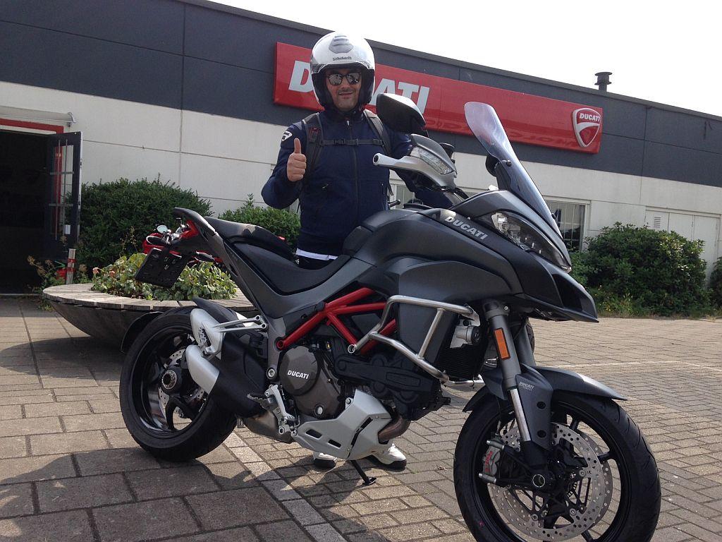 Ducati dealer Amsterdam Multistrada 1200 S verkocht