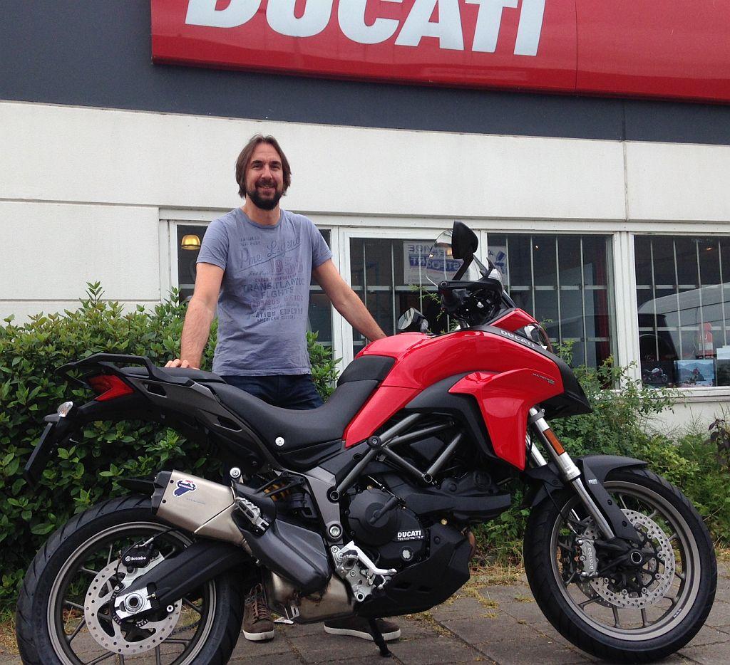 Ducati delaer Amsterdam :Ducati Multistrada 950 met Termignoni