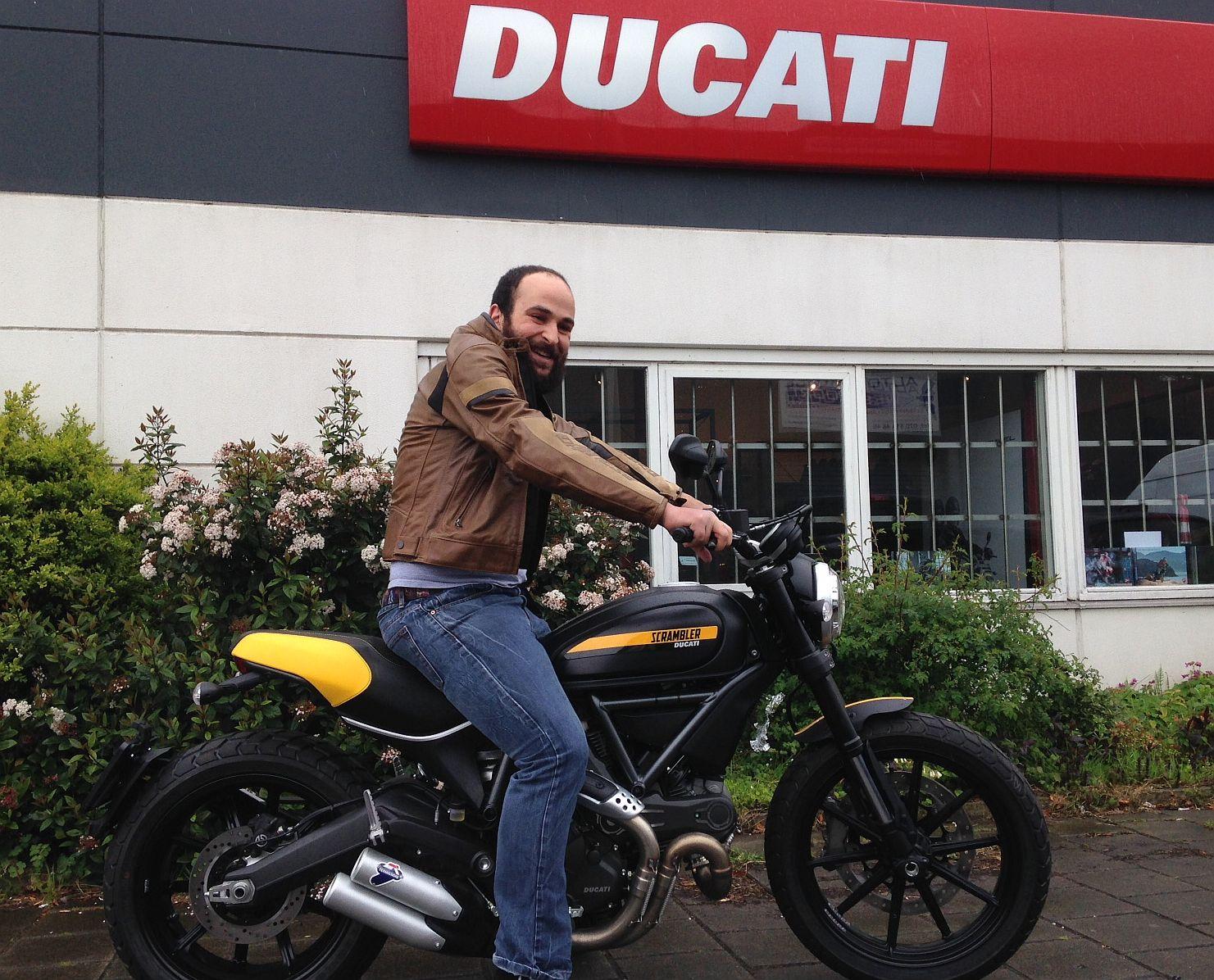 Ducati Dealer Amsterdam: Scrambler Full Throttle verkocht
