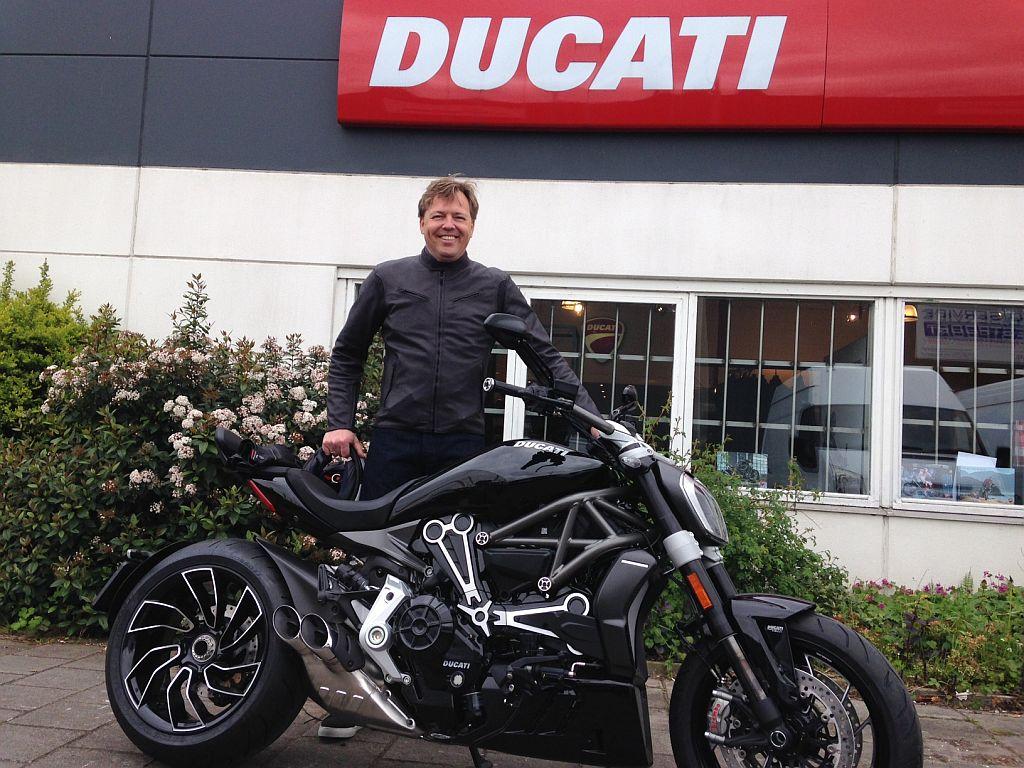 Ducati XDiavel S verkocht door Ducati dealer Amsterdam