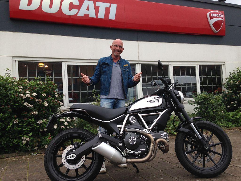 Ducati Scrambler Chrome Special