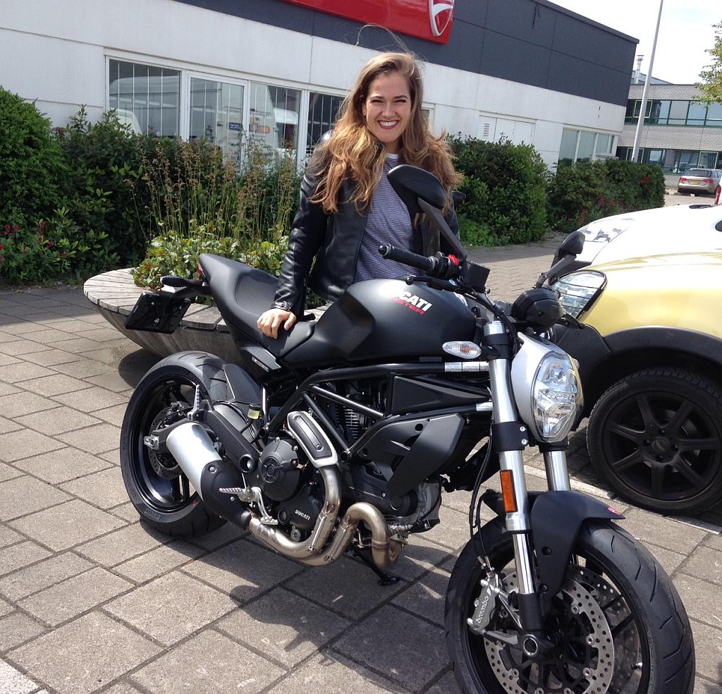 Monster 797 bij Ducati Motortoer Amsterdam